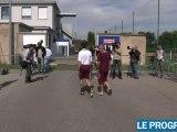 Olympique Lyonnais: entrainement sous tension avant le derby