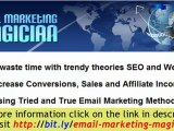 Email Marketing TIPS - Create an avalanche of profits using
