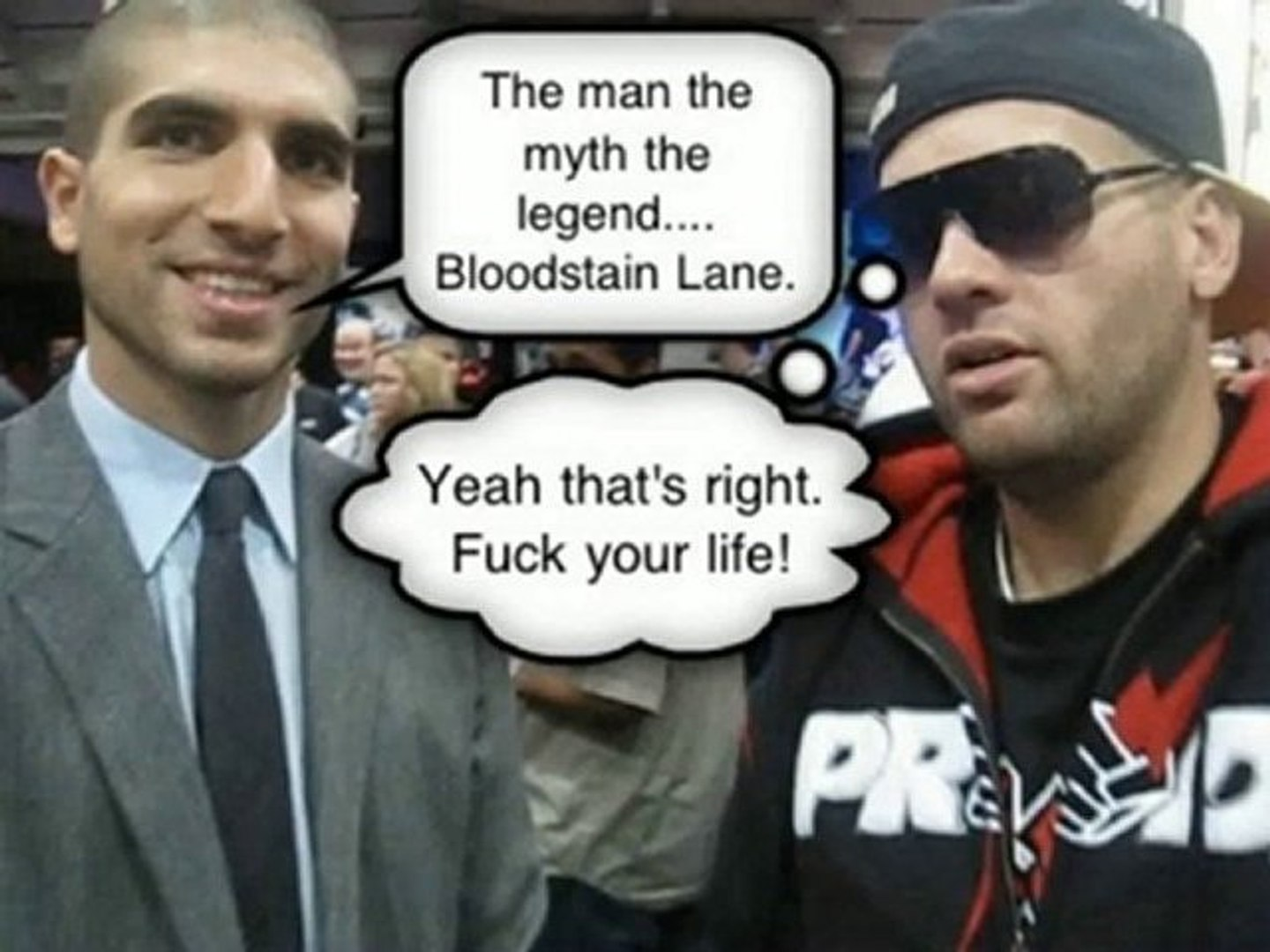 Bloodstain Lane Talks GSP's Style, Fedor And Mir's Comment