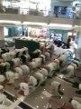 Tarawih En Face De La Mosquee De La Mecque