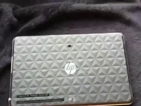 Hp Slate review - first video
