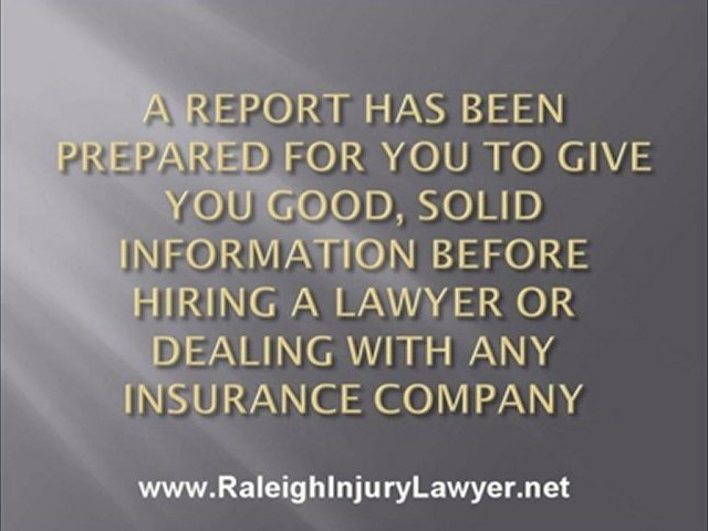 Raleigh Injury Lawyer | Injury Lawyer Raleigh NC