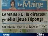 Fabrice Favetto quitte Le Mans FC (Foot D2)