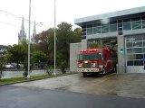 Pompiers Québec Caserne 2 départ en intervention