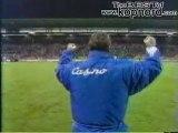 ST ETIENNE LYON en 1994 3 - 0 pour les Verts