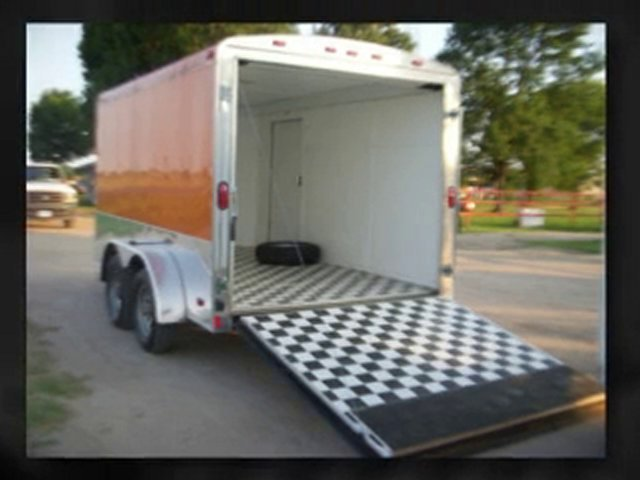 Enclosed Motorcycle Trailer to Transport Your Motorcycles