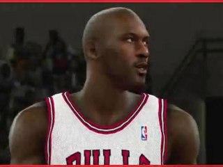 NBA 2K11 - Jordan opus de NBA 2K11