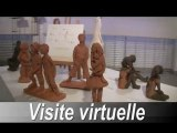 Annie Baroux, exposition sculptures , visite virtuelle r.baroux.free.fr/annie/