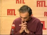 Eric Zemmour : Fillon, c'est too much !