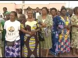 Ali Bongo Ondimba auprès des Gabonais