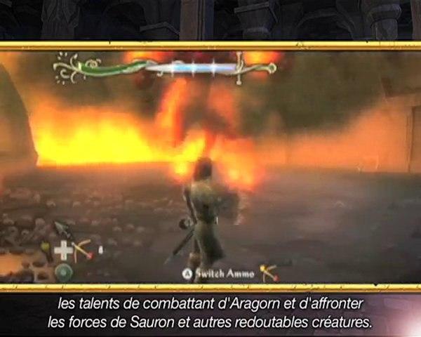 Nouvelle vidéo Quête d'Aragorn sur Wii