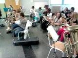 des gammes classe orchestre Saint Malo