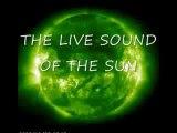 Le son émis par le soleil