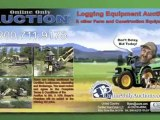 Online Only Logging Equipment Auction, Personal Property Auc