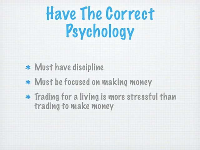 What it Takes to be a Pro Trader