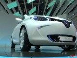 Renault ZOE Preview au Mondial de l'Automobile 2010
