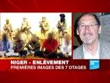 Aqmi diffuse des images des otages français enlevés au Niger