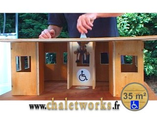 CHALETWORKS - Nautique Belvédère 35 m²- PMR