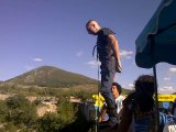 Rodolphe en saut à l'élastique 182 mètres