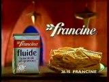 Publicité Farine Francine 1993