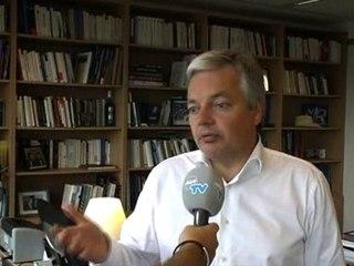 Didier REYNDERS réagit aux dernières déclarations de la NVA