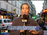 12 octobre : préavis de grève illimitée à la RATP