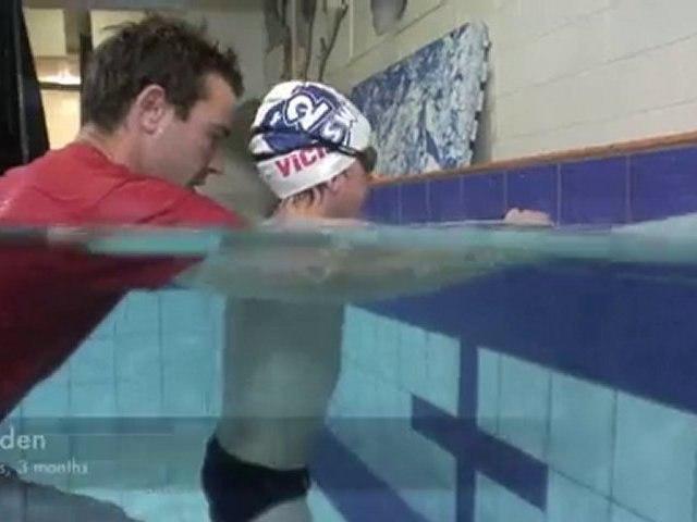 uSwim , level 3, skill 4, freestyle breathing teach swimming