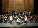 Concerto tribal triple concerto pour trio à cordes&orchest