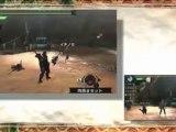 TGS 2010 Metal Gear Solid Peace Walker Monster Hunter