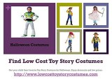 Low Cost Toy Story Costumes for Halloween
