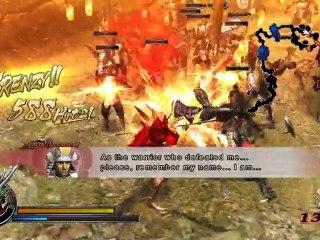 Gameplay Oda de Sengoku Basara Samurai Heroes
