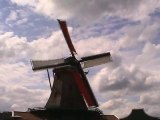 Traditional Dutch Windmills, the Netherlands (Holland)