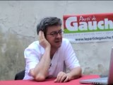 "Jean-Luc Mélenchon traite David Pujadas de ""salaud"""