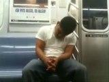 ne pas dormir dans le métro
