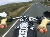 Une Harley au Tourist Trophy ( Moto Journal )