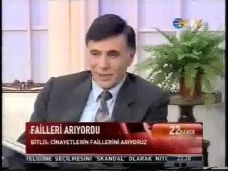 Eşref Bitlis ve Ahmet Türk aynı programda