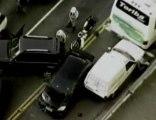 Bandido em fuga atropela policiais em São Paulo