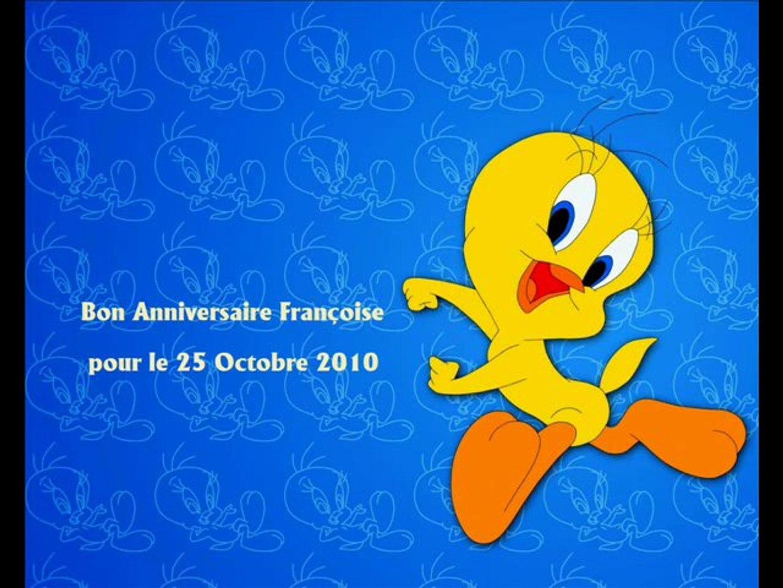 Pour Francoise Bon Anniversaire