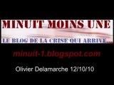 Olivier Delamarche BFM radio du 12 octobre 2010 - 12/10/10