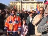 Retraites : le clip des manifs à Belfort et Montbéliard