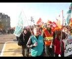 Manif unitaire anti retraites Pontivy 12 octobre 2010