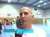 Le BCP Nîmes-Gerland Mouche: Réaction du coach (Basket N3F)