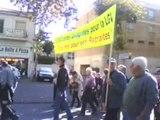 12 octobre 2010. Manifestation à Agen.