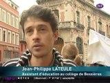 Retraites : La manif du collège de Bessières irrite l'UMP