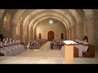 Visite du monastère en 3D