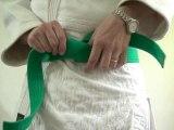 Noeud de ceinture Simple Judo, Karaté, Ju-Jitsu Obi HD LFTA