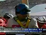 Chile: Samuel Avalos, minero 22º rescatado