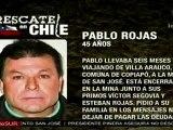 Pablo Rojas, décimo noveno minero rescatado en Chile