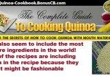 Recipes For Quinoa, Organic Quinoa, Quinoa Health Benefits