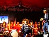 Tambours japonais en concert avec les janissaires à Istanbul